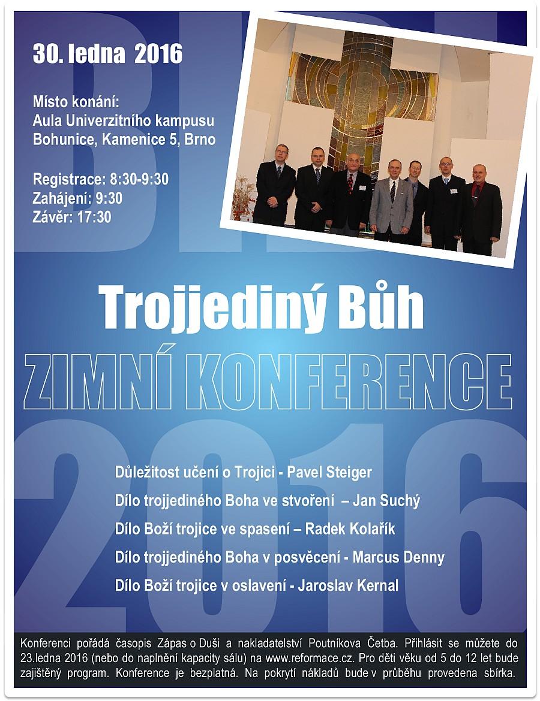 Zimní konference - program